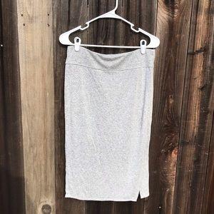 Loft Outlet Lounge Jersey Knit Skirt